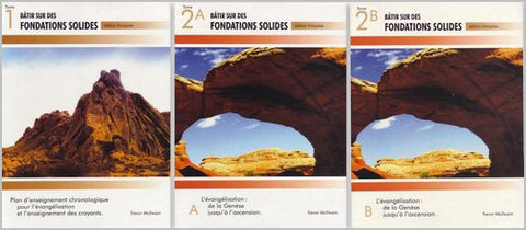 French- Building on Firm Foundations 3 Volume Set (Download)
