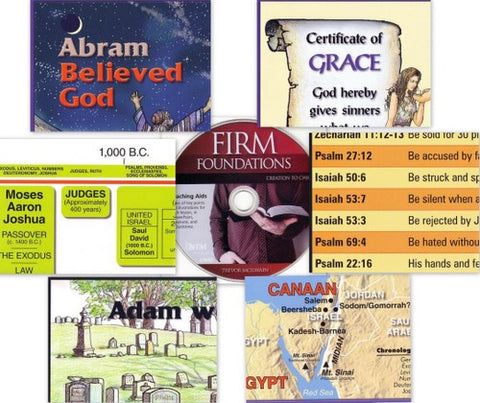 Firm Foundations: Creation to Christ Visual Aids and Supplemental Materials (Print)