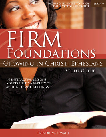 Ephesians study guide cover