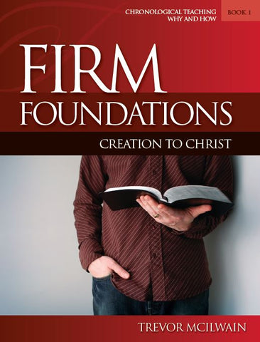 Firm Foundations: Creation to Christ Adult Book 1 (Print)