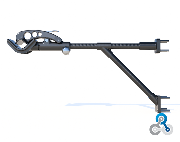 DIY - Bike Clamp for Holding Most Bikes - Rotates 360 Degrees (783.0 Grams) PN 708744109385 - Overnight Composites