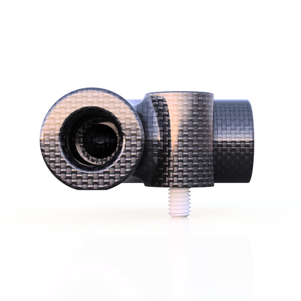 6mm Round 90º Composite Connector (2.0 Grams)- PN 708744108012 - Overnight Composites