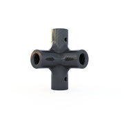 6mm Round 90º 6-Way Composite Connector (9.0 Grams) - PN 708744108050 - Overnight Composites