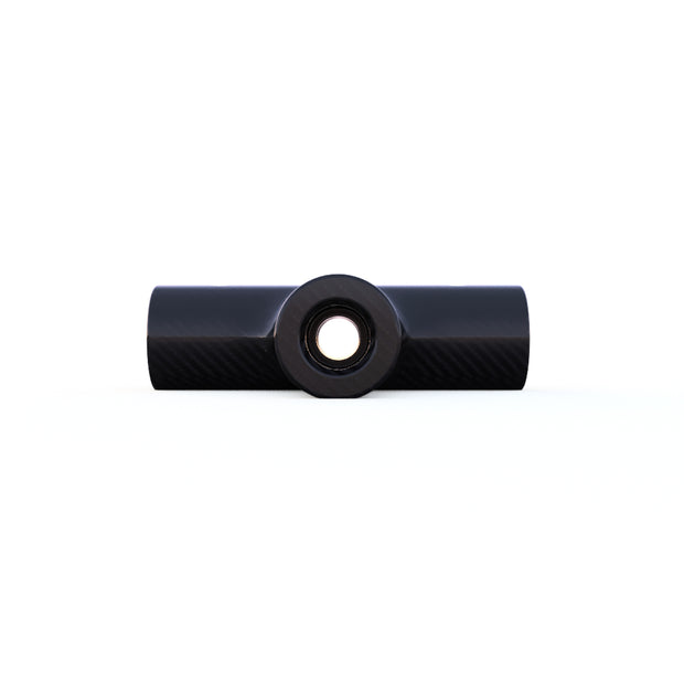6mm Round 90º 4-Way Cross Connector (5.0 Grams)- PN 708744108067 - Overnight Composites