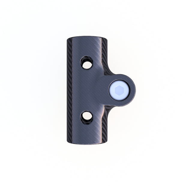 6mm Round Mounting Collar Composite Connector (3.0 Grams) - PN 708744108098 - Overnight Composites