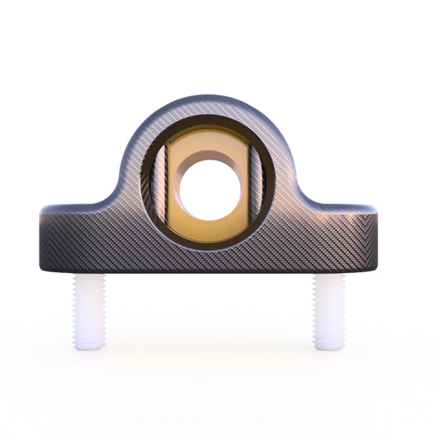 10mm High Speed Round Pillow Block Bearing Assembly (12 Grams) - PN 708744108906 - Overnight Composites