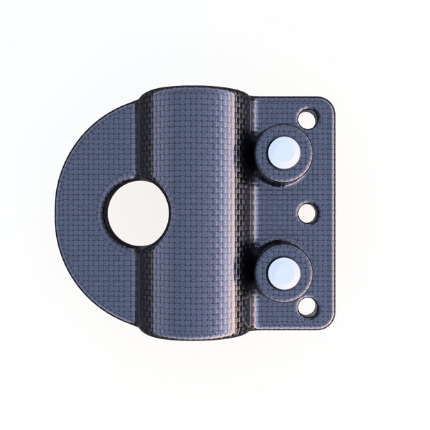 6mm Round Mounting Quick Clip Composite Connector (2.0 Grams) - PN 708744108500 - Overnight Composites