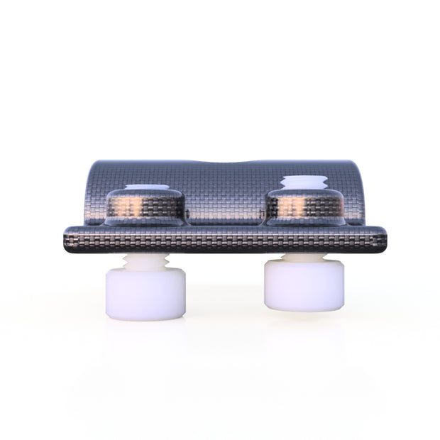 10mm Round Mounting Quick Clip Composite Connector (4.0 Grams)  PN 708744108517 - Overnight Composites