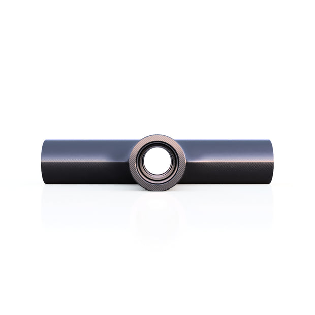 20mm Round 90º 4-Way Cross Connector (57.0 Grams) - 708744108661 - Overnight Composites