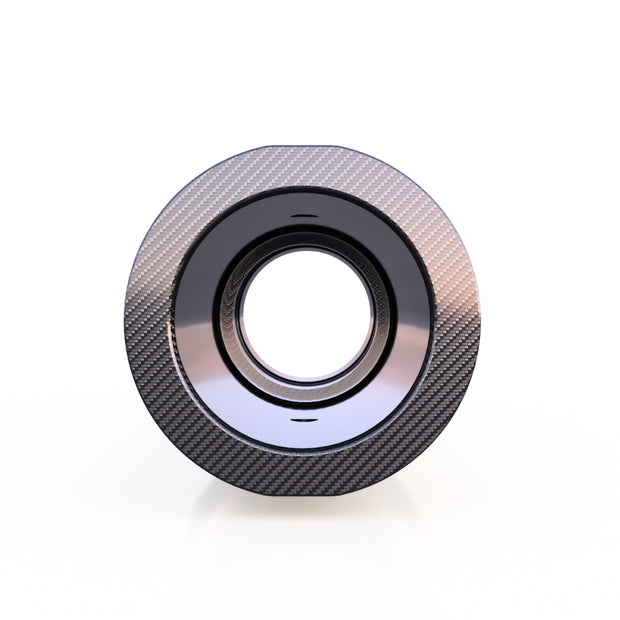 20mm to 24mm Round Composite Connector Adapter (25.0 Grams) - Used to Join  3K Carbon Fiber Tube - PN 708744108739 - Overnight Composites