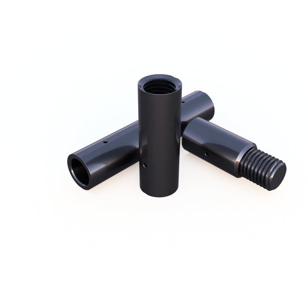 20mm Round Male/Female Thread Fitting Assembly (14.0 Grams)- PN 708744109040 - Overnight Composites