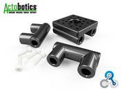 DIY - Round OD Actobotics to Composite Connector Bridge Adapter Tool - PN 708744109798 - Overnight Composites