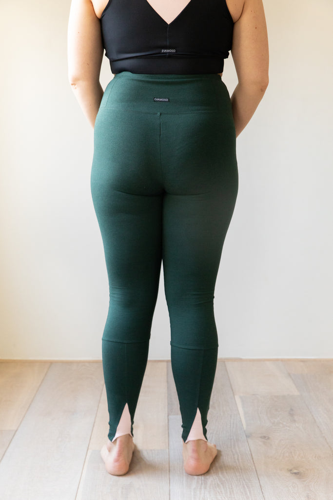 The Moso- bamboo and organic cotton legging