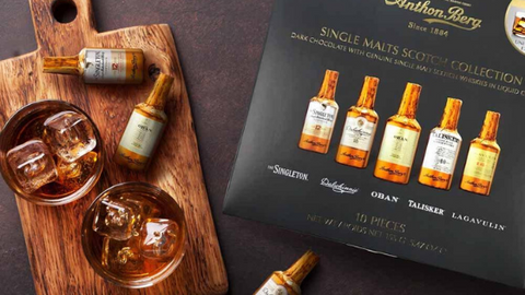 Anthon Berg Scotch Whisky Collection