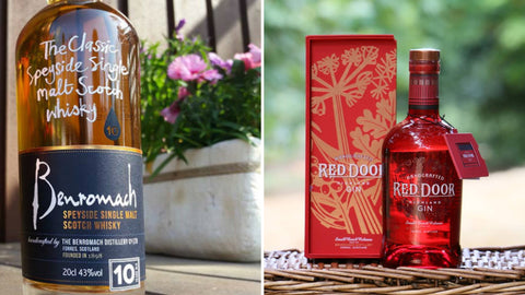 Benromach Whisky and Red Door Gin