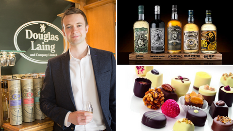 Douglas Laing whisky and chocolate pairing