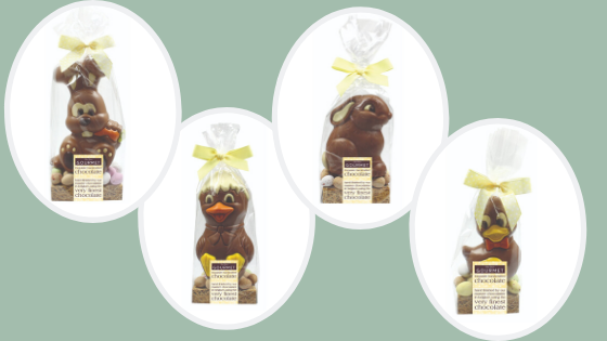 Easter Chocolate Figures