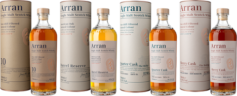 New Arran Whisky Range - Rebranded.  New Look
