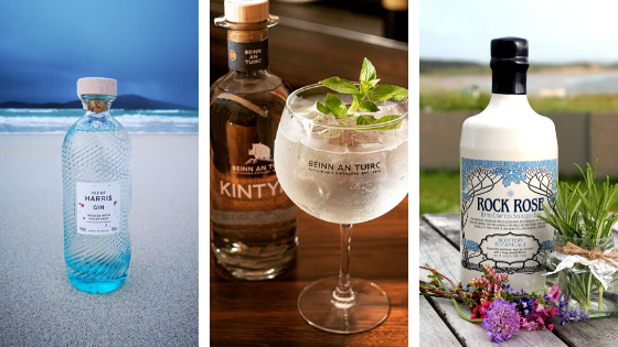 Top 3 Scottish Gins