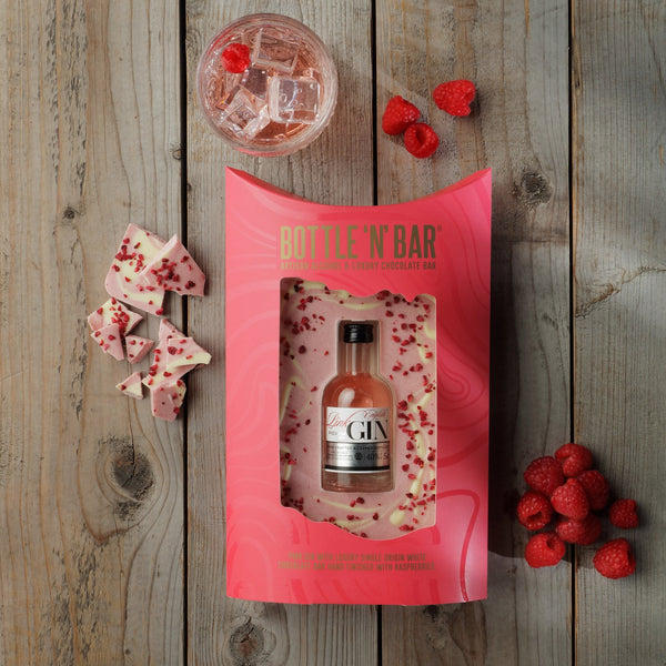 Bottle N Bar Pink Gin and White Chocolate
