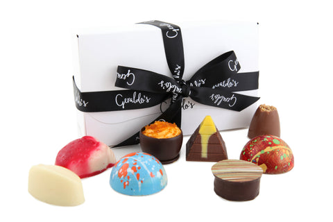 Handmade chocolates from Geraldo's