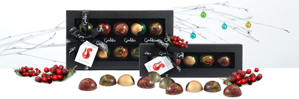 Picasso Christmas Chocolates