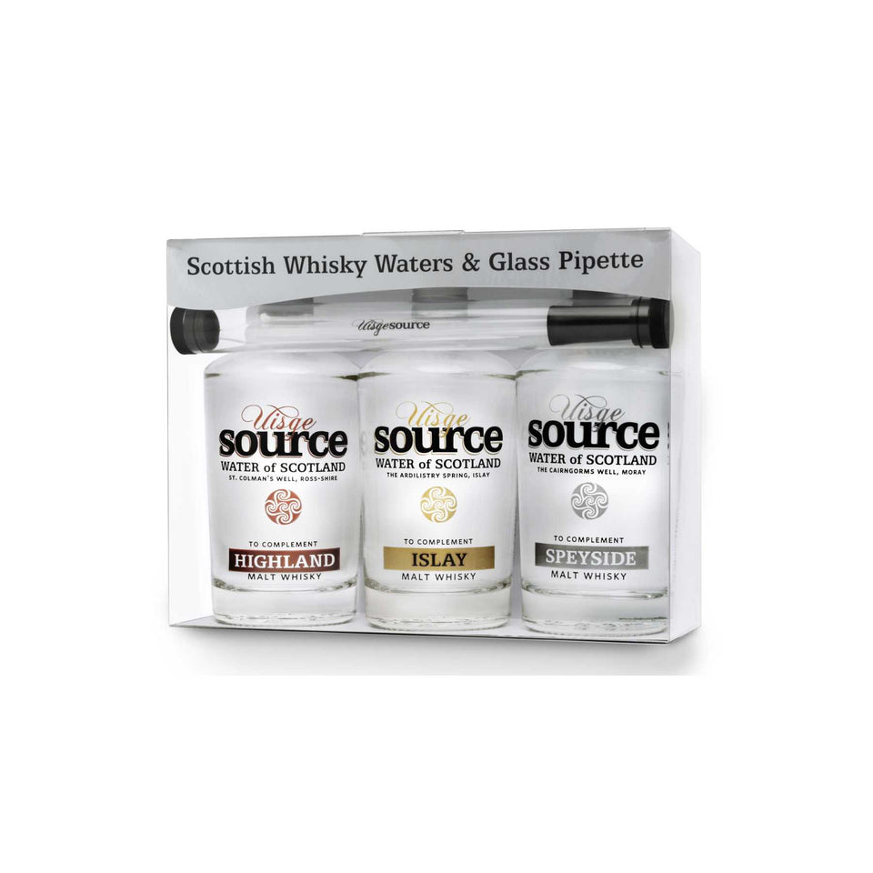 Scottish Water for Whisky - Three Regions Gift Pack xx