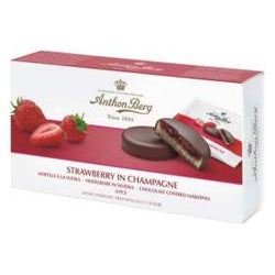 Anthon Berg Marzipan Cake - Strawberry in Champagne