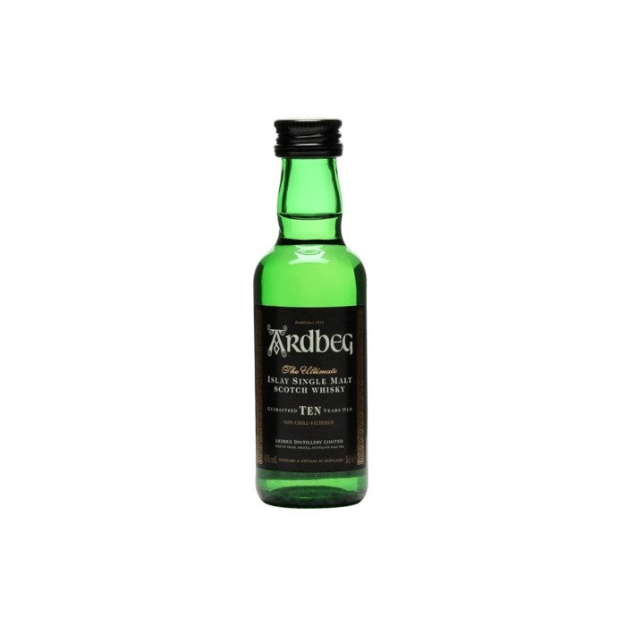 Ardbeg 10 Year Old Whisky 5cl xx