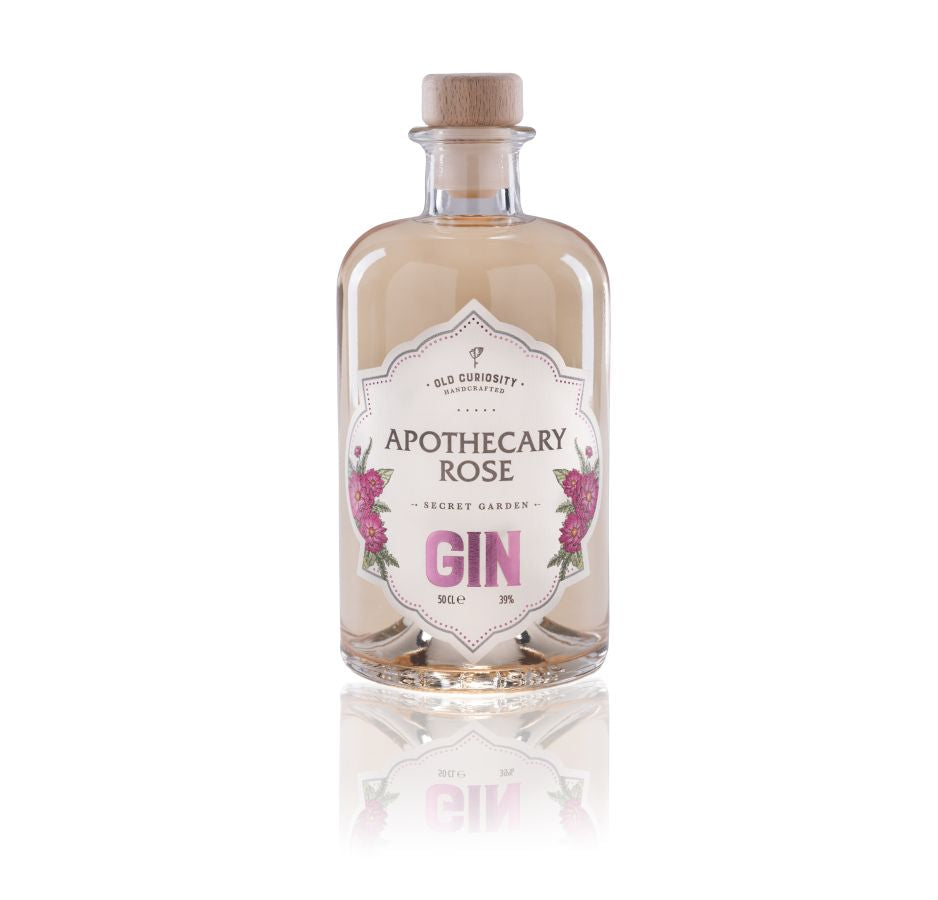 Old Curiosity Apothecary Rose Colour Changing Gin 5cl xx