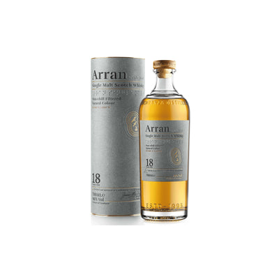 Arran Whisky 18 Year Old Single Malt - NEW PACKAGING