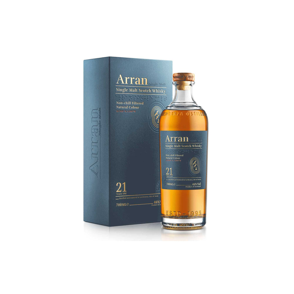 Arran Whisky 21 Year Old Single Malt xx