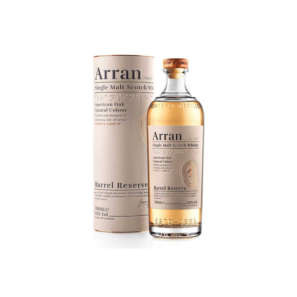 Arran Whisky Barrel Reserve - 2019 Release xx