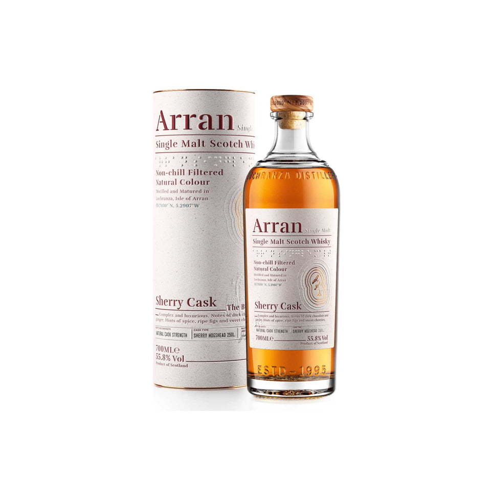 Arran Whisky Bodega Sherry Cask - NEW RELEASE xx