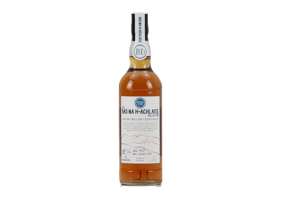 Bad Na h-Achlasie Highland Single Cask Whisky 50% (Cask 25) xx