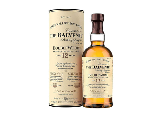 Balvenie Double Wood 12 Year Old Whisky 70cl