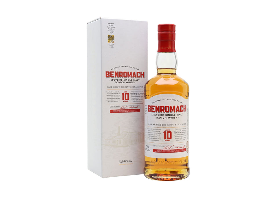 Benromach 10 Year Old Whisky xx
