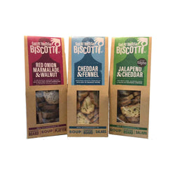 Great British Biscotti -  Savoury Selection