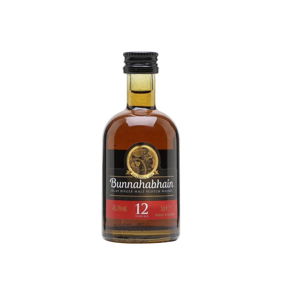 Bunnahabhain 12 Year Old Whisky 5cl xx