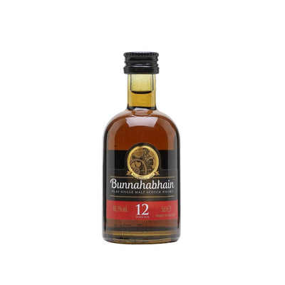 Bunnahabhain 12 Year Old Whisky 5cl