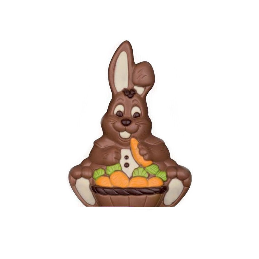 Chocolate Bunny with Carrot Basket xx