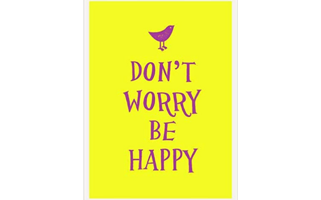 Don't worry be happy book