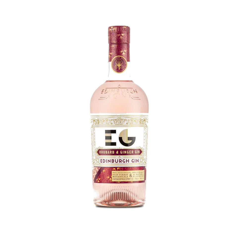 Edinburgh Rhubarb & Ginger Full Strength Gin 70cl xx