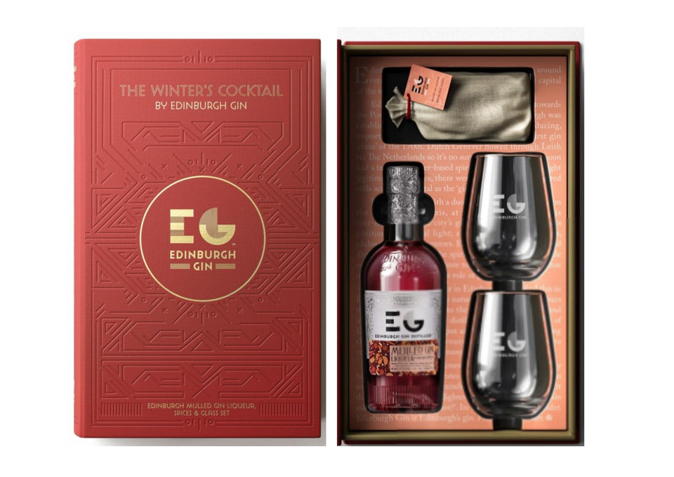 Edinburgh Gin Gift Pack - The Winter's Cocktail xx