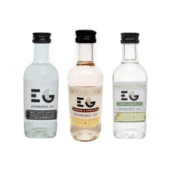 Edinburgh Gin 40% 5cl - 3 Flavours