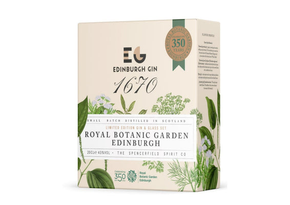 Edinburgh Gin Royal Botanic Garden Gift Pack
