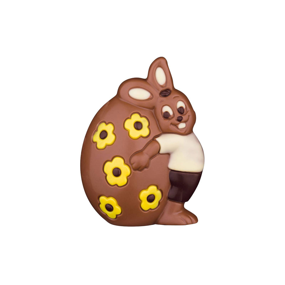 Chocolate Easter Bunny with Egg xx