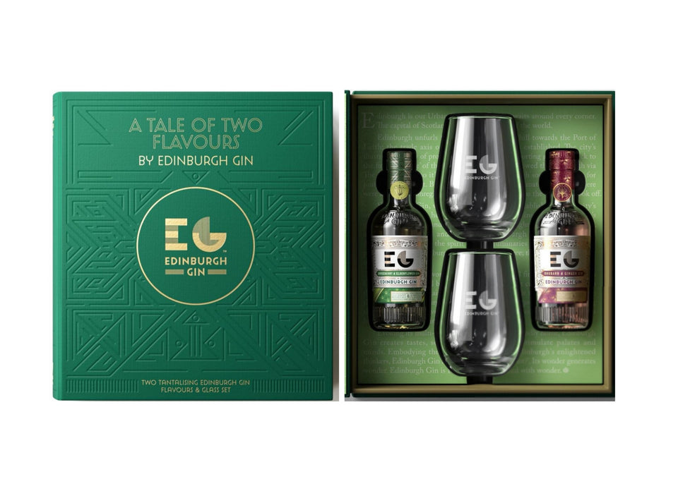 Edinburgh Gin Gift Pack - A Tale of Two Flavours xx