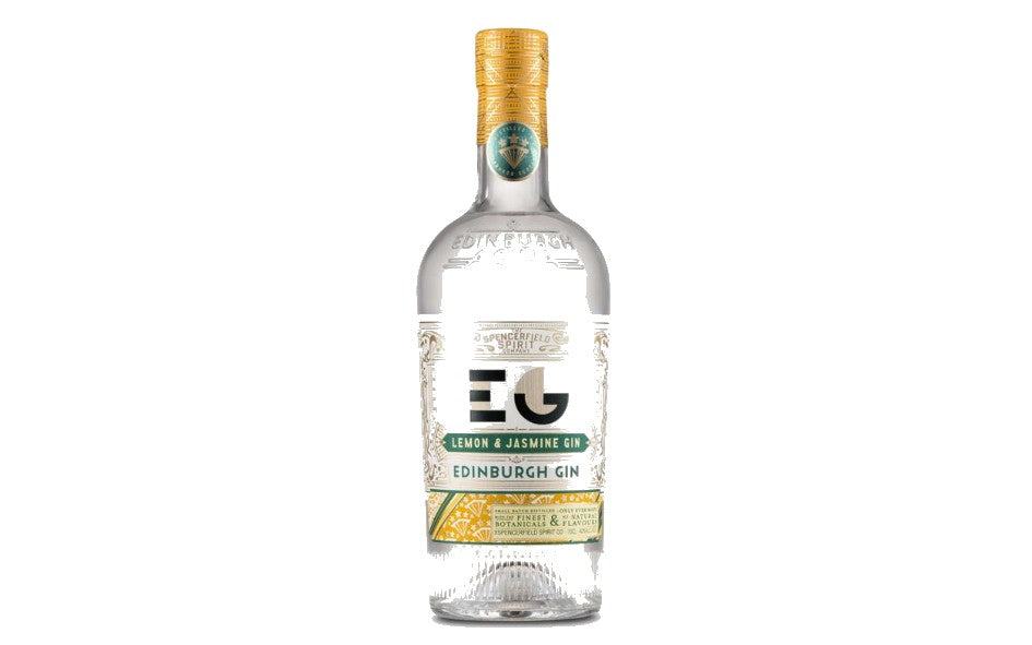 Edinburgh Lemon & Jasmine Full Strength Gin 70cl xx