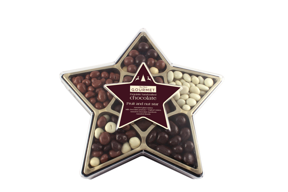 Assorted Fruit & Nut Star xx